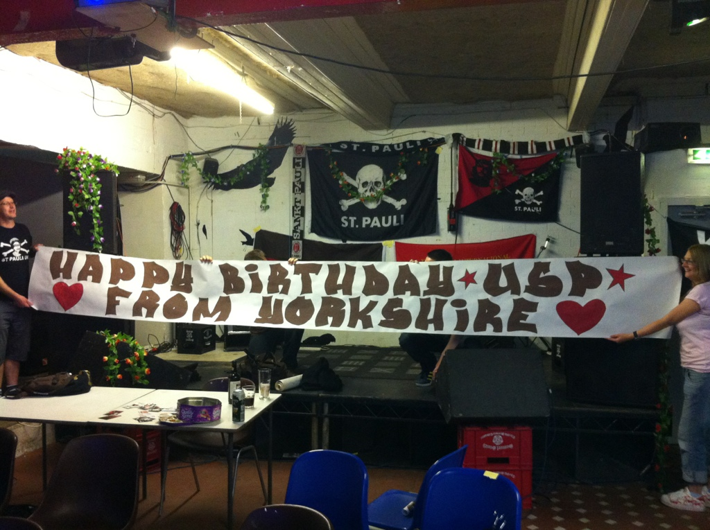 Happy Birthday Ultra Sankt Pauli Yorkshire St Pauli