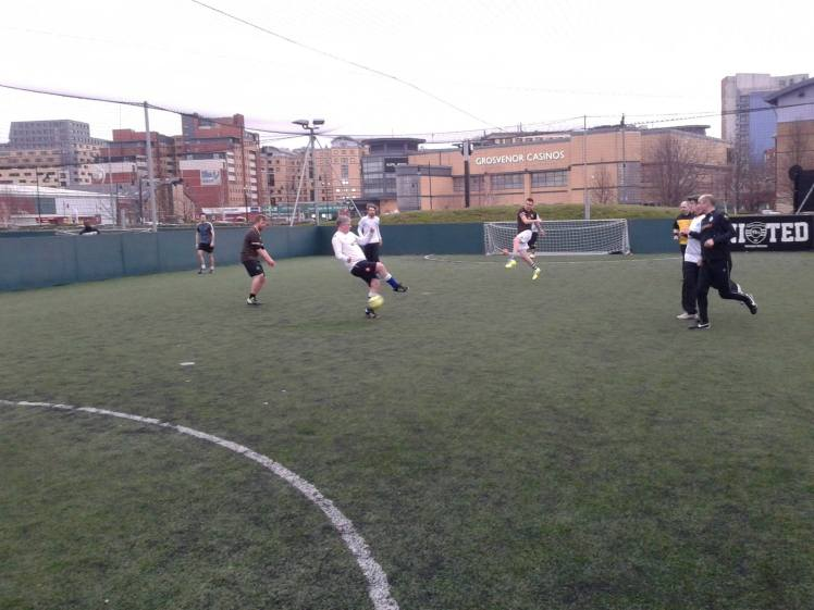 YSP FC in action.